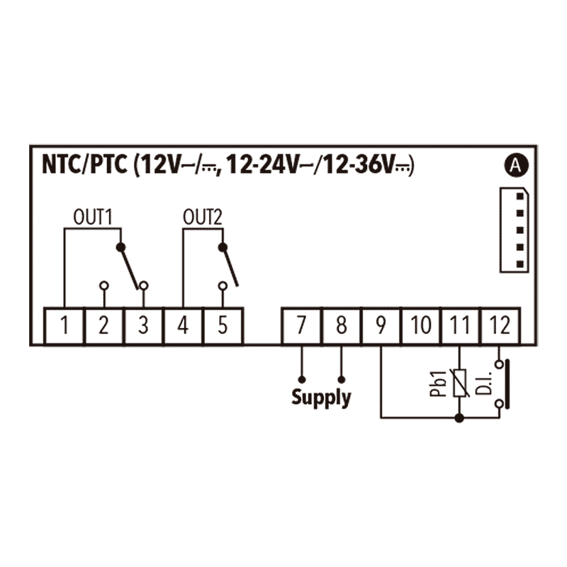 Eliwell-IC-PLUS-915-NTC_PTC-12V-Diagrama-2
